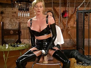 Latex Hd Videos Miss Hybrid video: Holly Kiss and Miss Hybrid in Latex