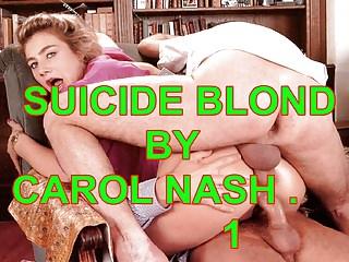 French Funny Stockings video: Carol XXX Blonde Nash.Vol 1