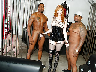 Redheads Interracial Cuckold video: Black Cock Anal with Lauren Phillips - Cuckold Sessions