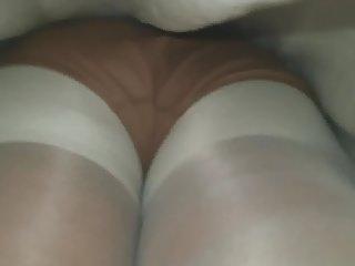 Grannies Hidden Cams Pantyhose video: Black granny upskirt