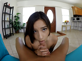 VR Porn - Afternoon Delight Blowjob from Asian