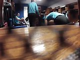 Volleyball girls team spycam