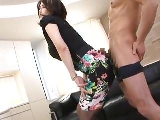 Japanese Cfnm video: Nippon no Bijin - Non nude Penetration Fellatio CFNM Skirt