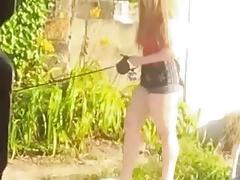 PAWG neighbor voyeur