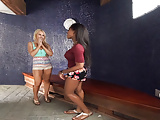 Virtual Reality The Pool House Girls lesbian session - 360 degrees