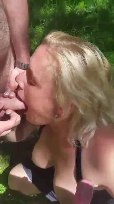 Sister-in-law blowjob