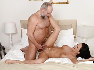 Big Boobs European Older video: Samantha Rebeka Loves Older Guys