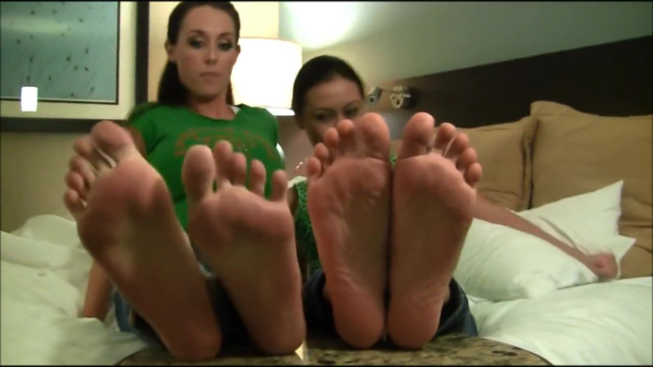 Girls Showing their soles