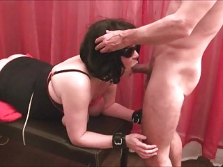 Subwife - Spanking Breast and Ass, Anal, Deepthroat