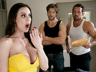 Big Boobs Milfs Threesomes video: Kendra Lust and the collection department
