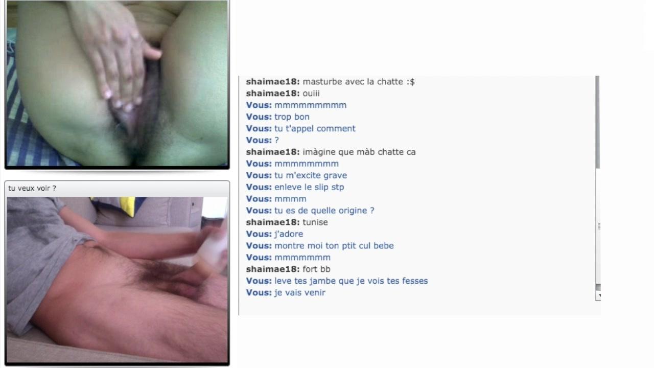 Tunisian Teen cum with me on bazoo