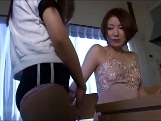 Licking Table Pussy Licking video: Joshi Kousei - Lesbian on the table pussy licking (censored)