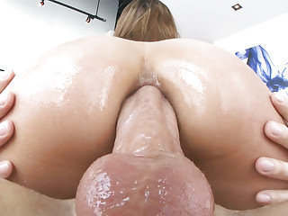 Latin Gaping Spanish video: Moka Mora butt fuck