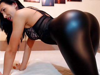 Stockings Webcams High Heels video: Ass Leggings Brunette