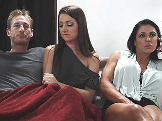 Teens Love Cheating video: I love stroking Daddy's cock!