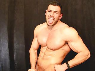 Muscle soldier behind enemy lines big juicy nipples and pecs