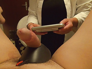 Bdsm Femdom Fisting video: Electro torture, fisting, grill tongs, nurse, doctor
