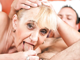 Grannies Dildo Saggy Tits video: Old granny asshole fucked