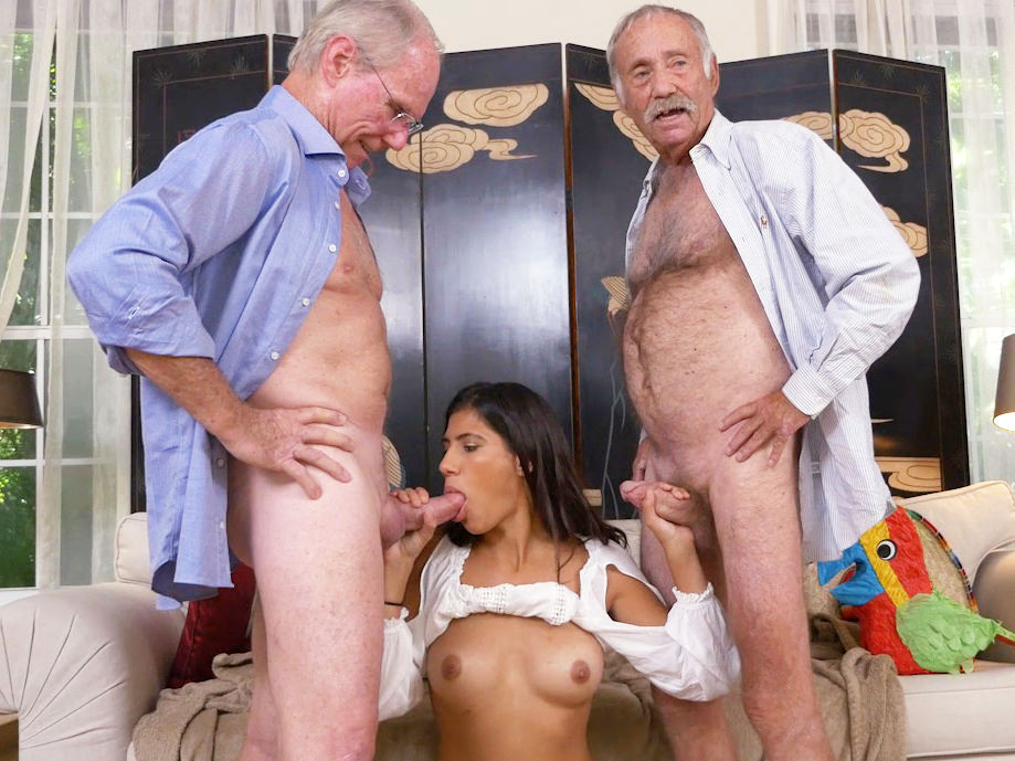 Teen,Latin,Old+Young,Threesome,18 Years Old,Blue Pill Men,HD Videos