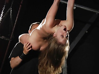 Masturbation Bdsm Russian video: Bondage bdsm girl in hardcore punishment to satisfy her feti