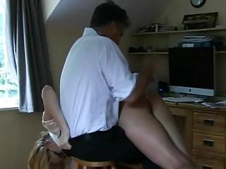 51yo milf pussy spanked part 2