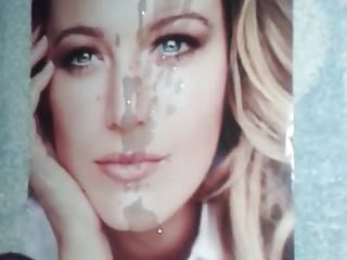 blake lively cum tribute