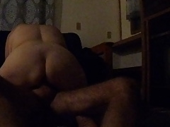 i ride his cock and cuck looks on