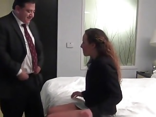 Milfs Oldyoung Boss video: away with my boss on work trip