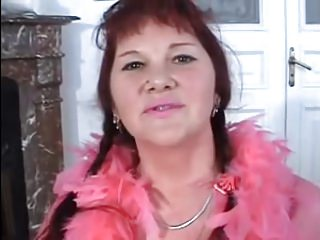 SEXY MOM n123 russian bbw mature with a young man