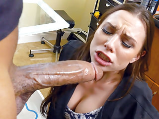 Interracial Black Big Cock vid: Aidra Fox Loves Big Black Cock