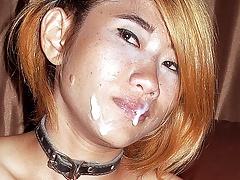 Spetterende seks met heel veel olie en een oosterse tiener | Sex film met Teen