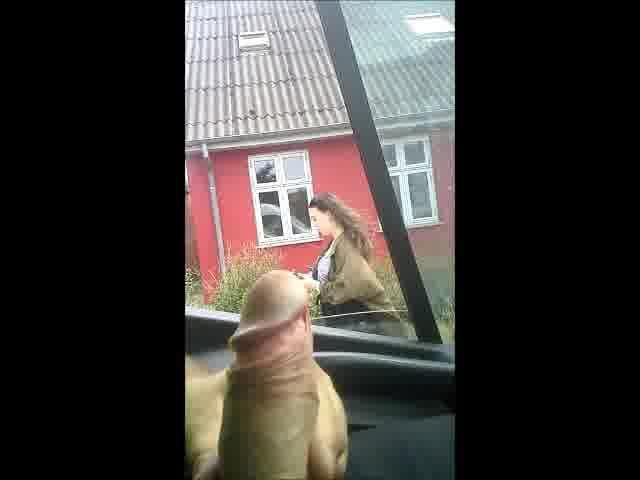 dick flash in car for danish girls