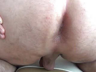 Shaved Fat Ass xxx: CrossDresser Fat piggy - Shaved fat ass up