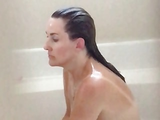 sexy wife in bathtub