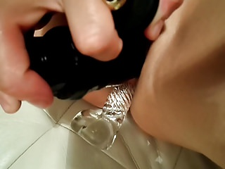 Dildo Masturbation Vibrator video: My little sex beast has all holes filled, I am amused.