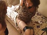 Two Mils bound gagged and hogtied at home