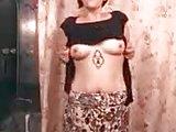 Sarah stripping
