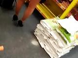 Shopping avec des bas