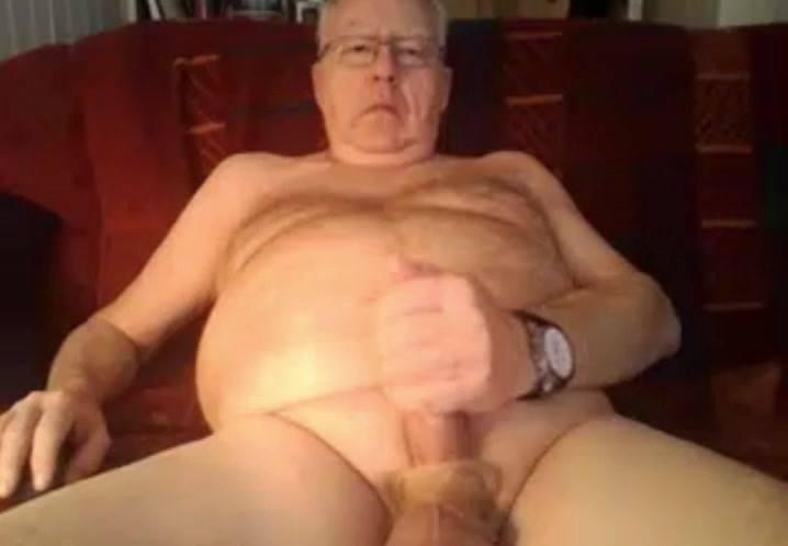 grandpa stoke on cam