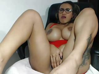Latina Masturbation