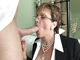 British lady fucking on bed