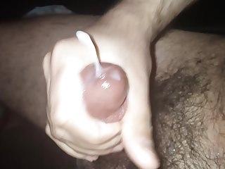 Hairy cock big cumshot
