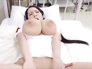 Japanese Big Tits xxx: Kyonyuu Kangofusan Big Tits Play Japanese Cosplay Nurse