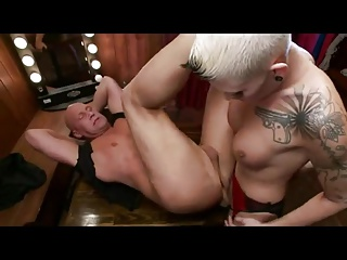 Bareback Shemale Shemale Fucks Guy Shemale video: Shemale bareback