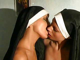 lesbian adventure in the monastery