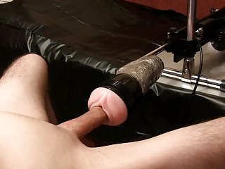 FleshLight Pussy rides on my dick, Homemade, solo