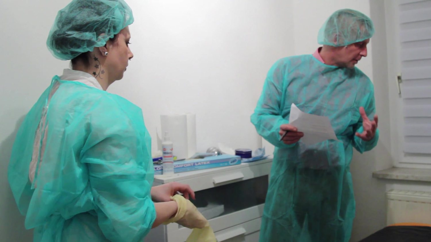 Medical Examination Femdom anal Untersuchung Part2