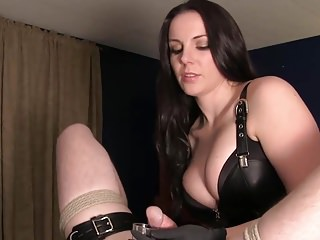 Slave Hd Videos Milking video: Prostate milking cum