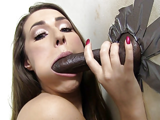 Black Big Cock First video: Paige Turnah Tries Her First Black Gloryhole Cock