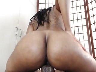 Sexy Ebony Dildo Ride Until She Cums